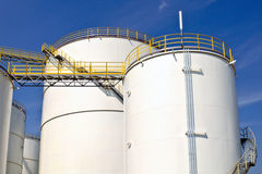 Oil and chemical depot  Stock Photography