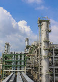 Oil and chemical factory Stock Photography