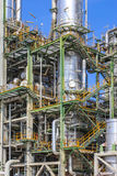 Oil and chemical factory Stock Images