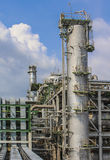 Oil and chemical factory Royalty Free Stock Photography