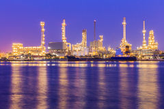 Oil chemical and petroleum Royalty Free Stock Photos