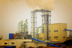 Oil Chemical Plant Stock Photography
