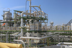 Oil and chemical plant Stock Image