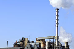 Oil and chemical refinery Royalty Free Stock Photos
