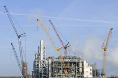 Oil and chemical refinery Stock Images