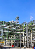 Oil and chemical structure plant Stock Photos