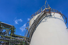Oil and chemical Tank storage Royalty Free Stock Image