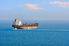 Oil/Chemical Tanker Royalty Free Stock Photo