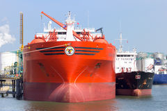 Oil/Chemical tanker Royalty Free Stock Image
