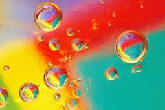 Oil bubbles Royalty Free Stock Image