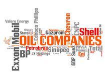 Oil companies Stock Photo
