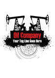 Oil company Stock Photo