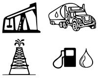 Oil company Royalty Free Stock Images