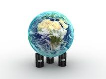 Oil concept Royalty Free Stock Photos