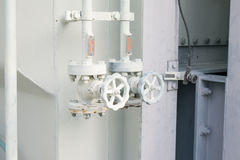 Oil control gate valve Royalty Free Stock Image