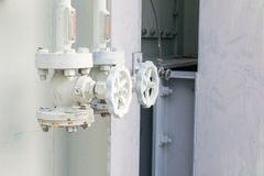 Oil control gate valve Royalty Free Stock Photography