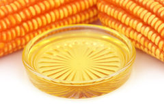 Oil with corns Stock Photography