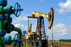 Oil Country Royalty Free Stock Images