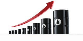 Oil crisis Royalty Free Stock Photography