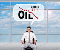 Oil crisis Stock Image