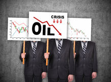 Oil crisis concept Royalty Free Stock Photo