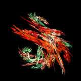 Oil dance. Oil paint dancing Royalty Free Stock Photo