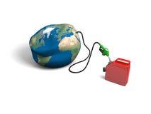 Oil depletion Stock Image