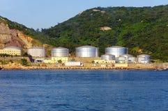 Oil depot Stock Image