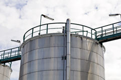Oil depot Stock Images