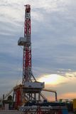 Oil derrick Royalty Free Stock Images