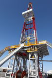 Oil derrick. On background of sky royalty free stock images