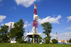 Oil derrick Royalty Free Stock Image