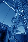 Oil derrick Royalty Free Stock Photography