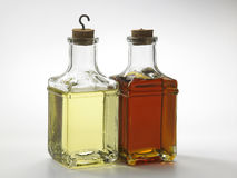 Oil. Different type of oil in bottles Stock Image