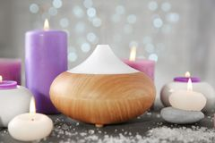 Oil diffuser royalty free stock image