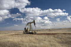 Oil drill royalty free stock photos