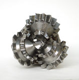 Oil Drill Bit Royalty Free Stock Photography