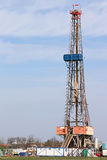 Oil drilling rig mining industry Royalty Free Stock Photo