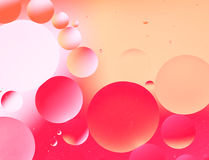 Oil drop background Royalty Free Stock Photography
