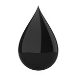Oil drop Royalty Free Stock Photos