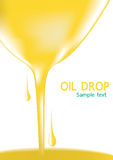 Oil drop or Oil palm down Royalty Free Stock Photography