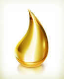 Oil drop, vector icon Royalty Free Stock Photo