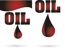 Oil drop Stock Images