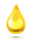 Oil drop. Vector illustration Royalty Free Stock Photos