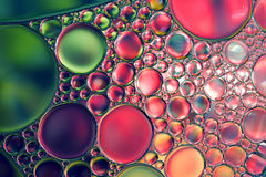 Oil drops abstract background Stock Images