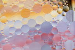 Oil drops royalty free stock images