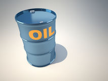 Oil drum Royalty Free Stock Image