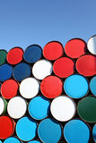 Oil drum Royalty Free Stock Photo
