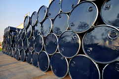 Oil Drum Royalty Free Stock Photography