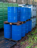 Oil drums Royalty Free Stock Image